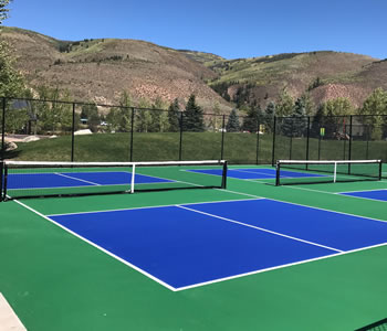 EagleVail tennis courts
